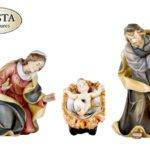 Heilige Familie aus der Krippenfigurenserie